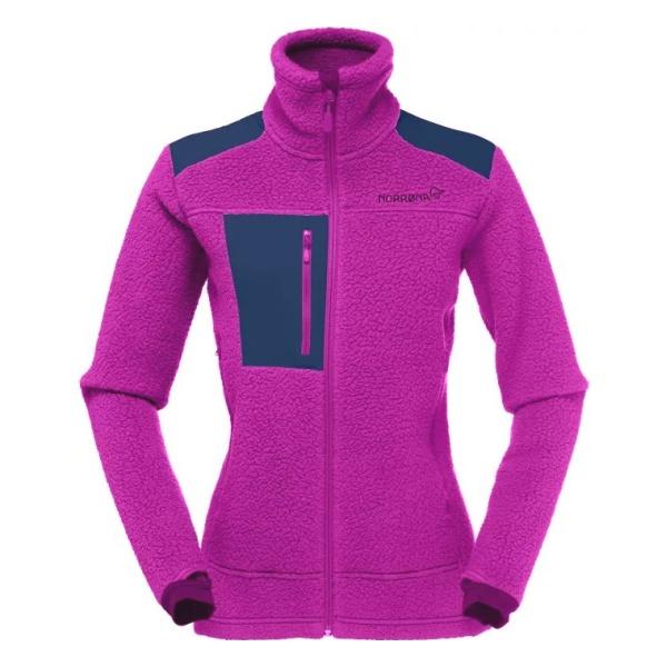 Куртка Norrona Norrona Trollveggen Thermal Pro женская светло-фиолетовый XS футболка norrona norrona fjora equaliser lightweight long sleeve