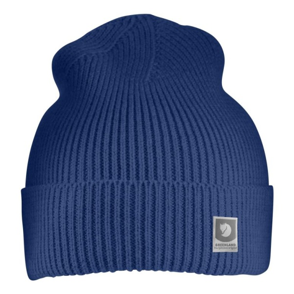 Шапка FjallRaven FjallRaven Greenland Cotton Beanie синий ONE greenland greenland gr002lubkp31