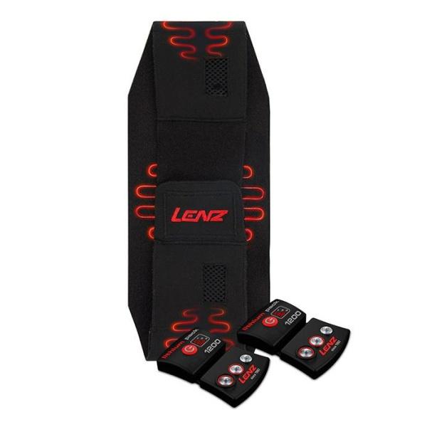 Набор LENZ Lenz пояс с подогревом + с аккумуляторами 1200 мач 70/90 провод удлинитель lenz lenz для стелек с подогревом пара extension cord 120 см heat soles 120
