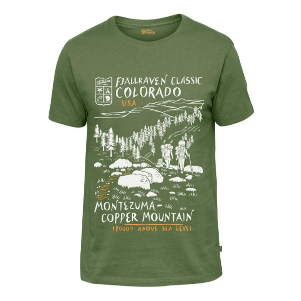 Футболка FjallRaven FjallRaven Classic US T-Shirt ксивник fjallraven fjallraven zip wallet синий