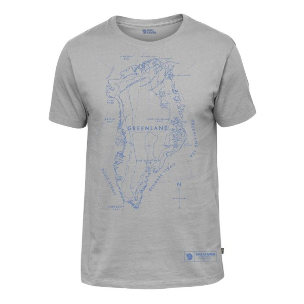 Футболка FjallRaven FjallRaven Greenland Printed T-Shirt