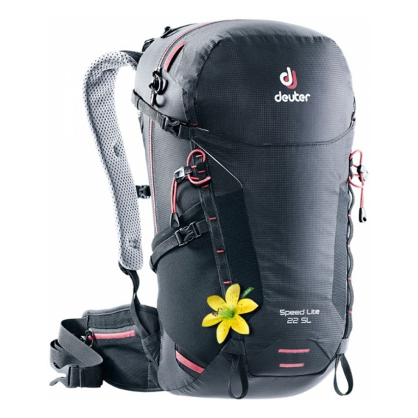 Рюкзак Deuter Deuter Speed Lite 22 SL черный 22Л цена и фото