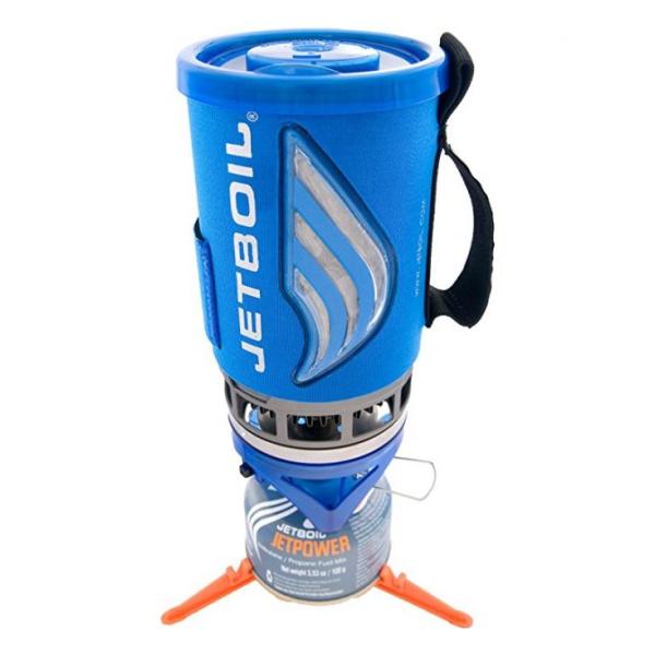 Комплект горелка + кастрюля JetBoil JetBoil Flash синий 1л