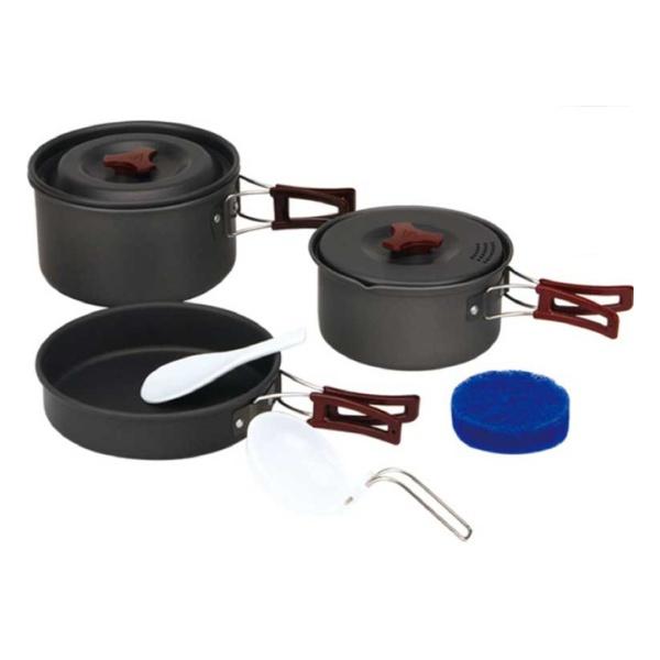 Купить Набор алюминиевой посуды с антипригарным покрытием Fire-Maple FMC-202