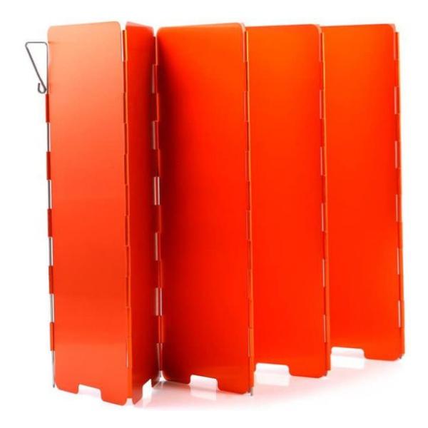 Экран ветрозащитный Fire-Maple Fire-Maple Windshield 508 (8 секций) оранжевый 240х680мм