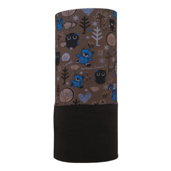 Бандана 4FUN 4FUN Polartec Garden Brown коричневый бандана 4fun 4fun thermal pro wolf blue синий