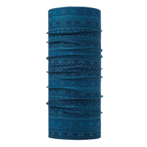Бандана BUFF Buff Original Athor Lake Blue темно-синий 53CM/62CM велобандана buff original buff original buff tamale см 53cm 62cm 107797 00