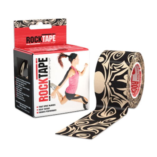 Кинезиотейп Rock Tape Rock Tape Design бежевый 5смх5м