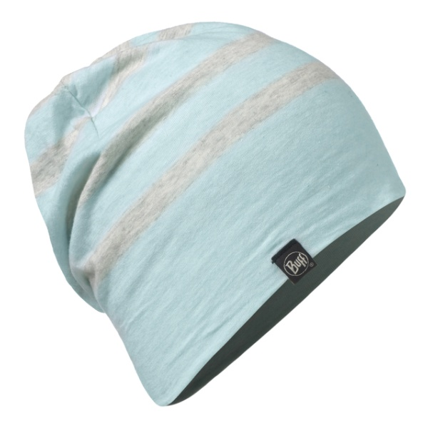 Шапка BUFF Buff Cotton Hat Aqua Stripes светло-голубой ONE* unique letter sentences cotton baseball hat
