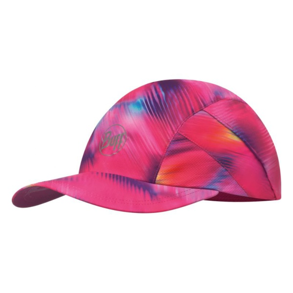 Кепка BUFF Buff Pro Run Cap R-Shining Pink темно-розовый ONE козырьки buff козырек buff 2017 visor buff r akira pink