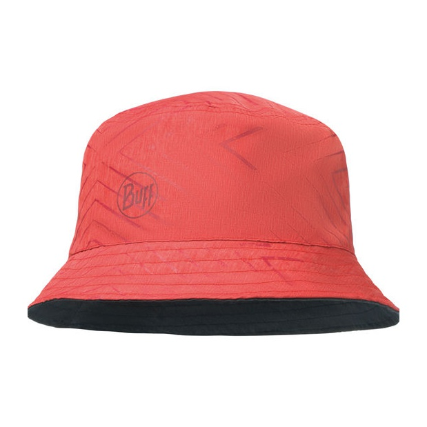 Панама BUFF Buff Travel Bucket Hat Collage Red-Black красный ONE*