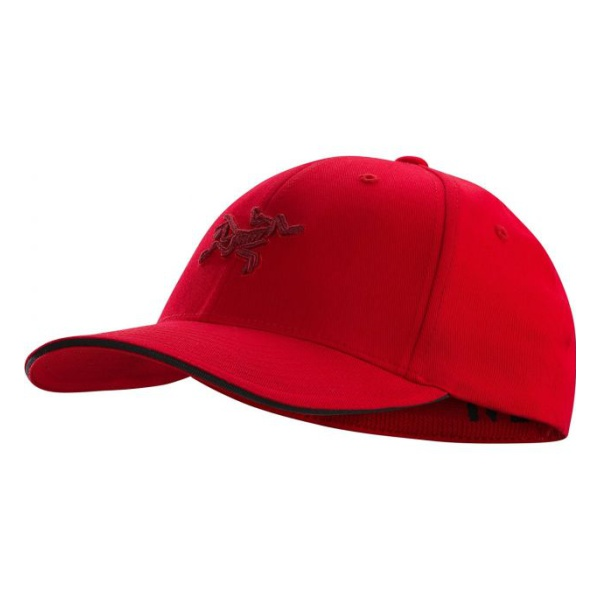 Кепка Arcteryx Arcteryx Embroidered Bird Cap красный стоимость