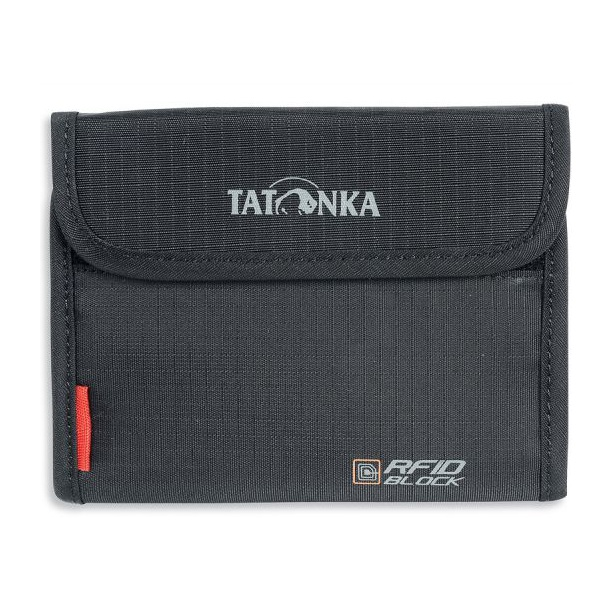 Кошелек Tatonka Tatonka Euro Wallet Rfid черный tatonka hy neck wallet black orange