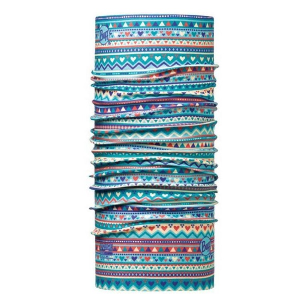 Бандана BUFF Buff Child Uv Protection Handicraft Turquoise 45/51CM buff бандана buff frozen child polar buff one size olaf blue navy
