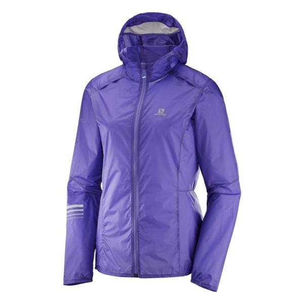 Купить Куртка Salomon Lightining Wind Hoodie женская