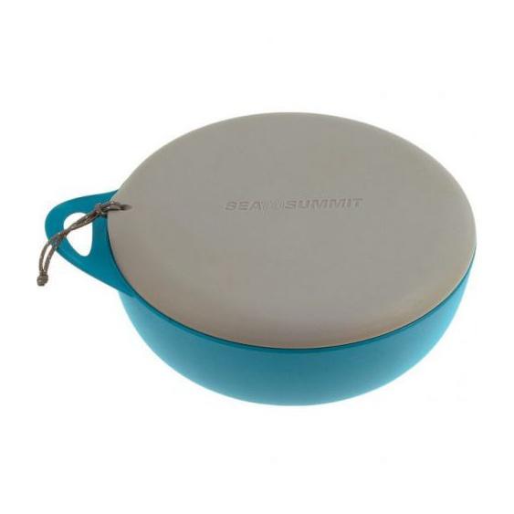 Миска SEATOSUMMIT SeatoSummit Delta Bowl With Lid с ручкой и крышкой голубой миска для кошек i p t s стальная цвет голубой 180 мл