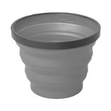 Чашка SEATOSUMMIT SeatoSummit X-Cup складная серый 250мл мешок seatosummit seatosummit компрессионный ultra sil™ compression sack синий 20л
