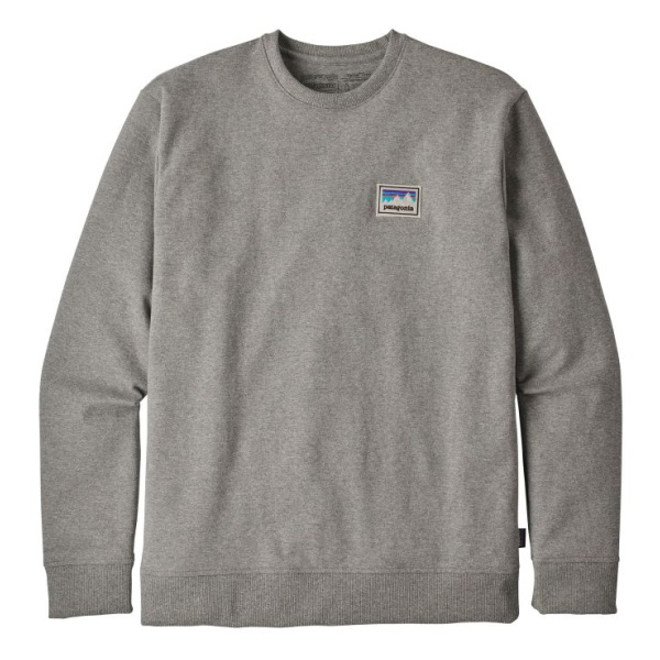Толстовка Patagonia Patagonia Shop Sticker Patch Uprisal Crew Sweatshirt crew neck patchwork sweatshirt