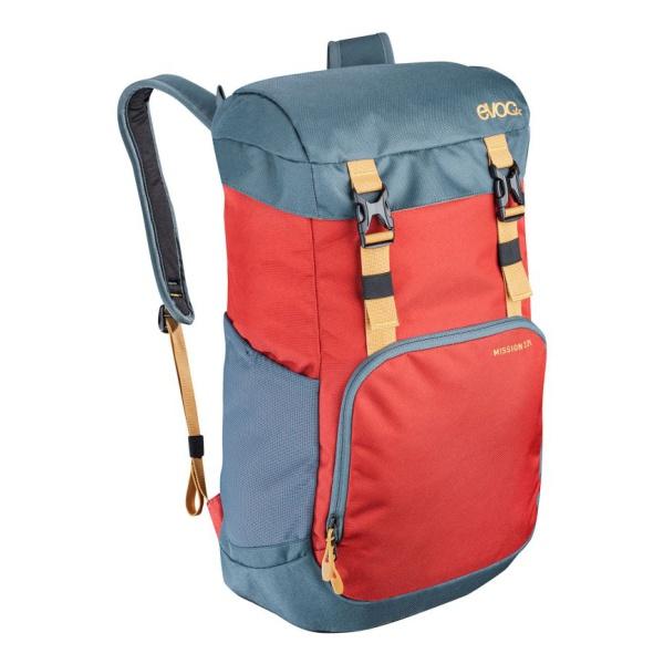 Рюкзак EVOC Evoc Mission 22L красный 22л кошелек для документов evoc evoc travel case разноцветный one 24x14x1 5cm