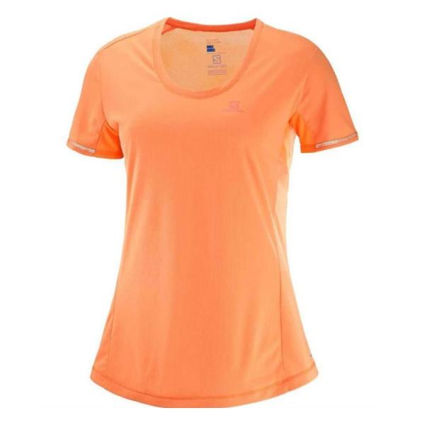 Футболка Salomon Salomon Agile SS Tee женская футболка женская columbia elevated ss tee t shirt цвет бирюзовый 1663131 341 размер s 44