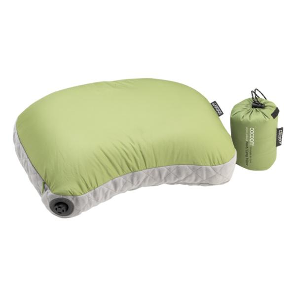 Подушка Cocoon Cocoon Air Core Hood/Camp Pillow Ultralight светло-зеленый 28X37CM