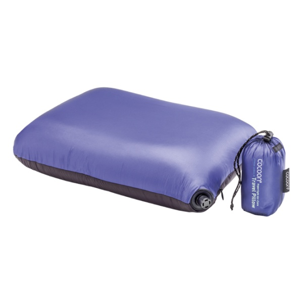 Подушка Cocoon Cocoon Air Core Pillow Hyperlight синий 33X43CM вкладыш в спальник cocoon cocoon microfiber travelsheet темно синий 220x90cm