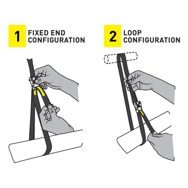 Купить Крепление такелажное Nite Ize Dual Camjam Tie Down System 12 FT