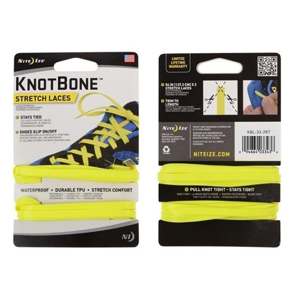 Шнурки Nite Ize Nite Ize Knotbone Stretch Laces 2 шт желтый шнурки nite ize nite ize knotbone stretch laces 2 шт оранжевый