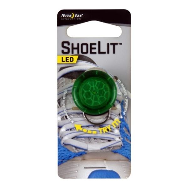 Маркер светодиодный Nite Ize Nite Ize на шнурки Shoelit зеленый