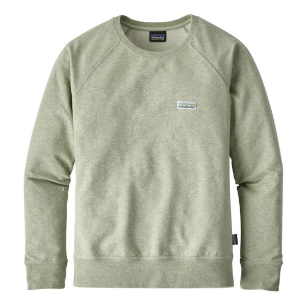Толстовка Patagonia Patagonia Pastel P-6 Label Mw Crew Sweatshirt женская side zipper design color block splicing crew neck sweatshirt