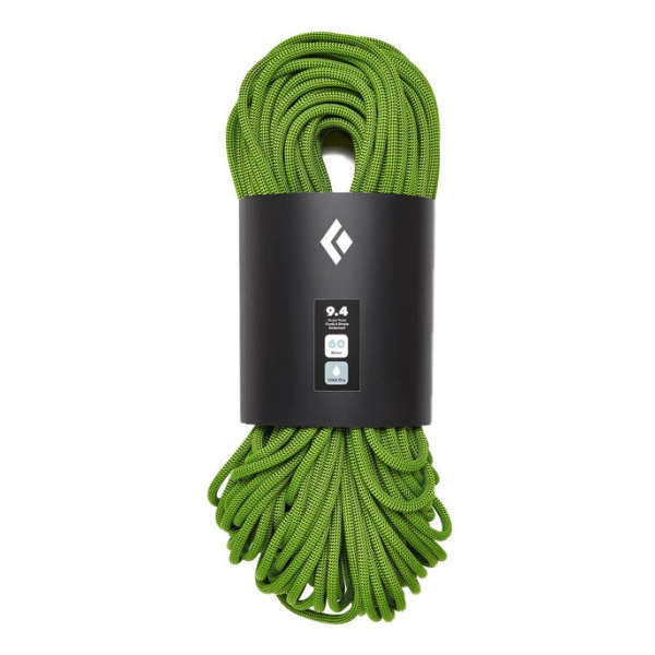 Верёвка Black Diamond Black Diamond 9.4 ROPE - 60M - DRY зеленый 60м