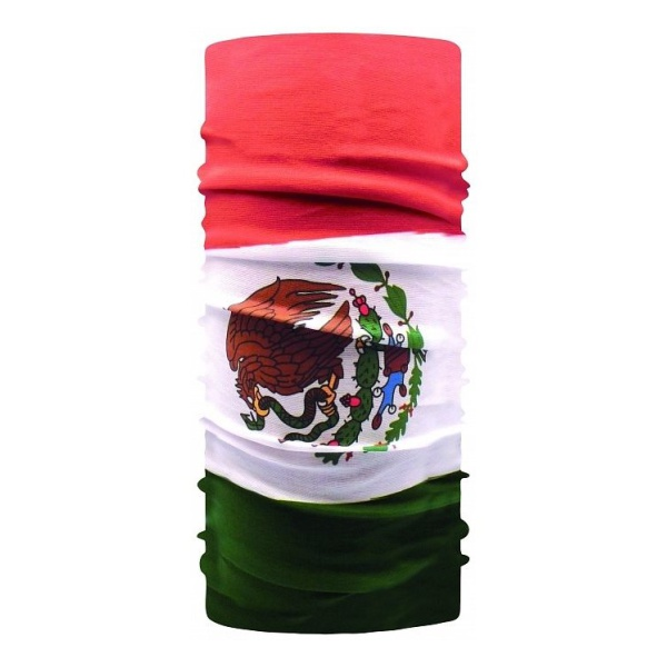 Бандана BUFF Buff Original Buff Flag Mexico 53/62CM велобандана buff original buff original buff tamale см 53cm 62cm 107797 00