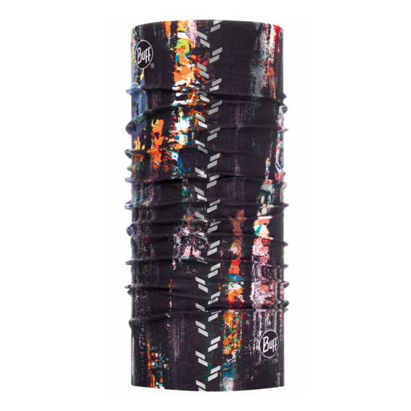 Бандана BUFF Buff Reflective R-Graffiti черный 53/62CM бандана buff polar skank black 107840 00