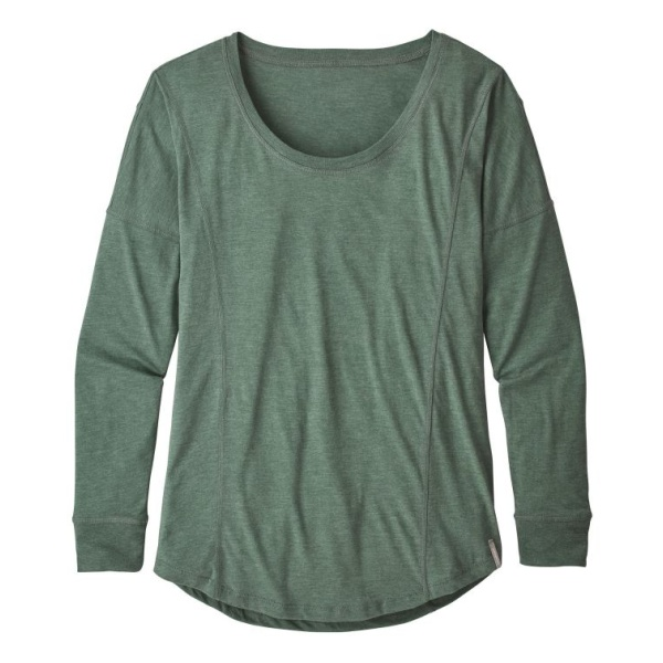Футболка Patagonia Patagonia L/S Blythewood Top женская футболка patagonia patagonia shallow seas tank женская