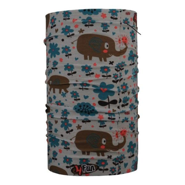 Бандана 4FUN 4FUN Elephant ONE бандана 4fun 4fun thermal pro wolf blue синий