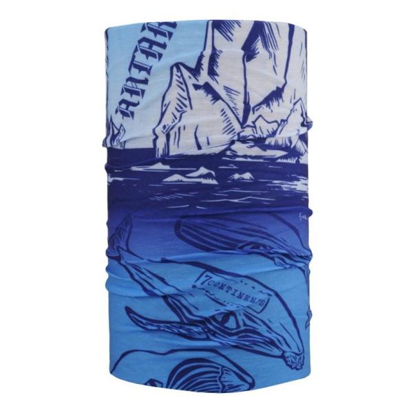 Бандана 4FUN 4FUN Antarctica ONE бандана 4fun 4fun thermal pro wolf blue синий