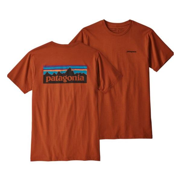 Футболка Patagonia Patagonia P-6 Logo Organic T-Shirt футболка patagonia