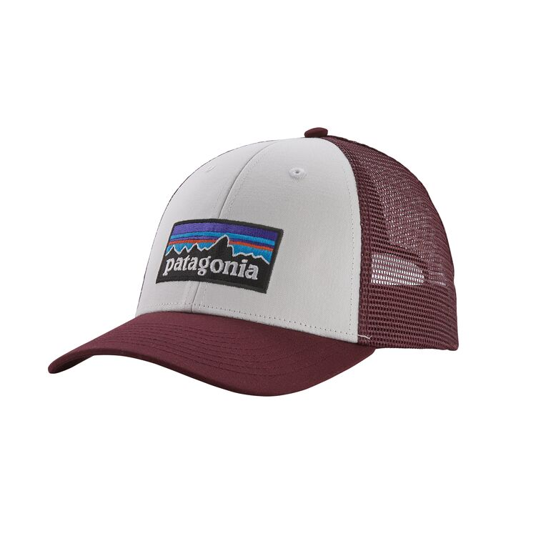 Кепка Patagonia Patagonia P-6 Logo Lopro Trucker Hat белый ONE цена