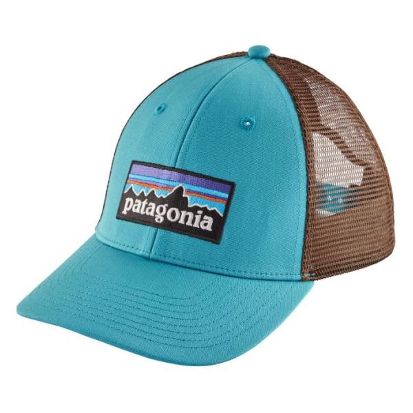 Кепка Patagonia Patagonia P-6 Logo Lopro Trucker Hat голубой ONE цена и фото