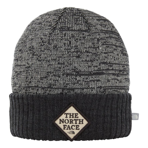 Шапка The North Face The North Face Norden Beanie серый ONE кепка the north face the north face mudder trucker hat темно красный os