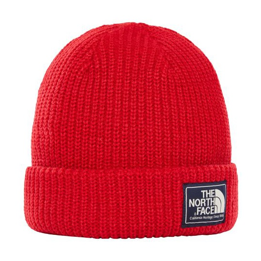 Шапка The North Face The North Face Salty Dog Beanie красный ONE шапка the north face the north face ski tuke v черный l