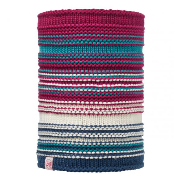 Шарф-труба BUFF Buff Knitted & Polar Neckwarmer Amity детский малиновый ONESIZE