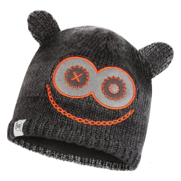 Шапка BUFF Buff Child Knitted & Polar Hat Monster Jolly черный ONESIZE