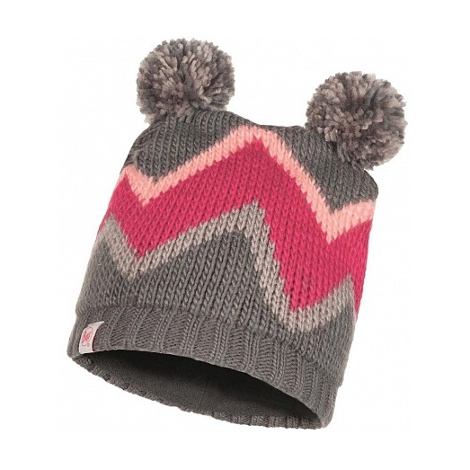 Шапка BUFF Buff Child Knitted & Polar Hat Arild серый ONESIZE шапка buff buff knitted