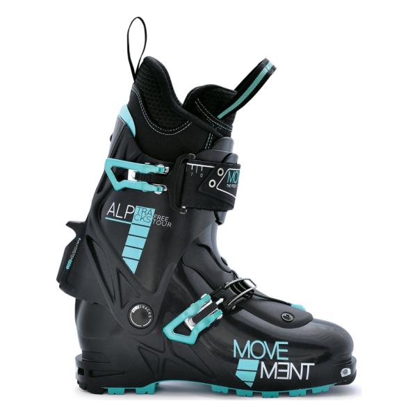 Ботинки ски-тур Movement Skis Free Tour Women Boots side zip buckle strap mid calf boots
