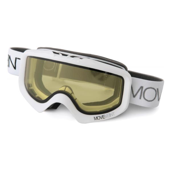 Горнолыжная маска Movement Skis Movement Skis Snow Goggle Mvmt белый