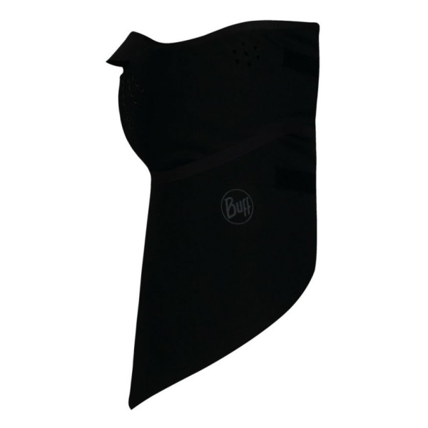 Бандана BUFF Buff Windproof Bandana Solid черный ONESIZE бандана buff polar skank black 107840 00
