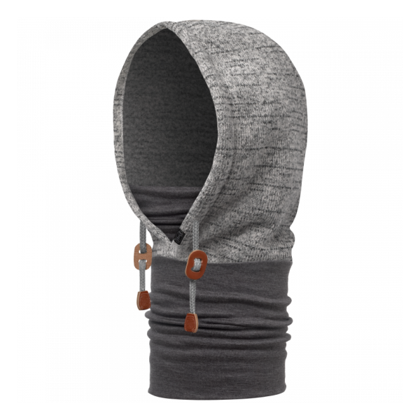 Бандана BUFF Buff Polar Thermal Hoodie Melange Grey серый ONESIZE бандана buff buff pebbles 53 62cm