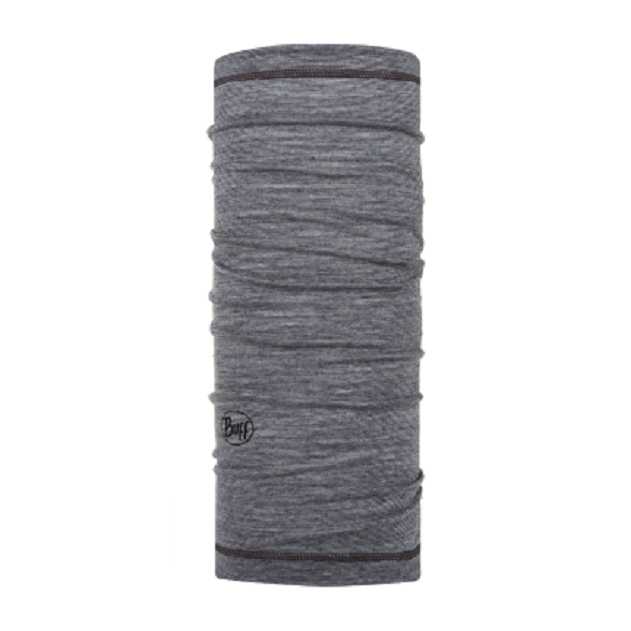 Купить Бандана Buff Lightweight Merino Wool Grey Multi Stripes детская
