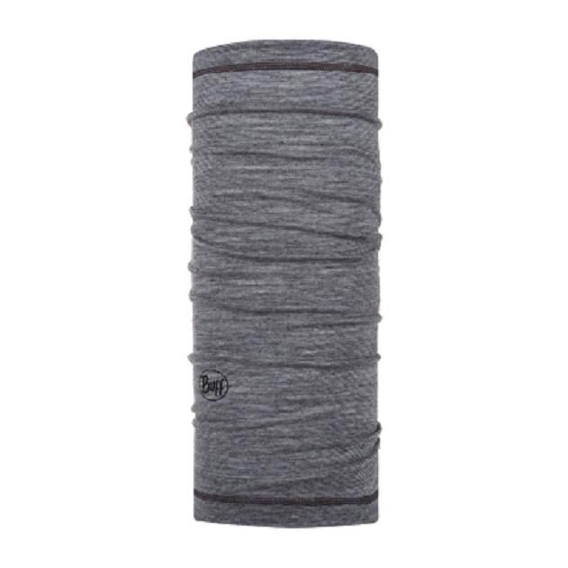 Бандана Buff Lightweight Merino Wool Grey Multi Stripes детская  - купить со скидкой